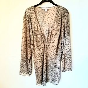 Victoria's secret blouse coverup